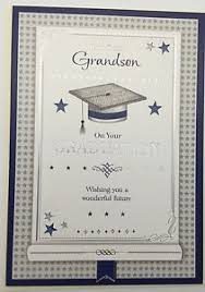 Grandson On Your Graduation Greeting Card Congratulations Well