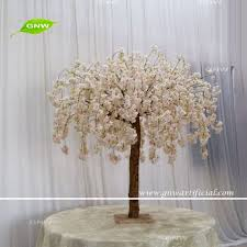 Fake Cherry Blossom Tree With Lights Gnw Bls1707015 New Fashion Fake Light Pink Hanging Flower Cherry Blossom Tree Buy Fake Cherry Blossom Tree Artificial Cherry Blossom Tree Wedding