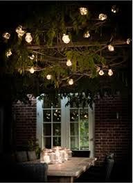 lighting in garden. Festoon Lights, Classic - 20 Bulbs Lighting In Garden I