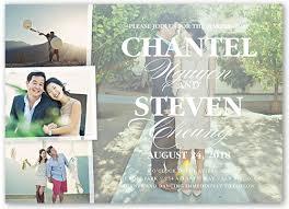 Collage Wedding Invitations 3 Gorgeous Ways To Create Custom Wedding Invitations With Photos