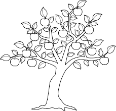 Small Picture Fruit Tree Coloring Page Coloring Coloring Pages
