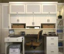 built in home office. home office_98 built in office t