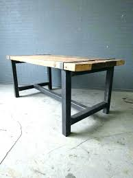 galvanized metal table top galvanized dining table galvanized table top unthinkable wood and metal table steel