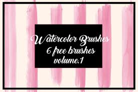 Graphicspsd Free Watercolor Brushes For Illustrator Vol 1