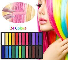 Gogogu 24 Colors Hair Chalk Set