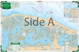 Little Egg Harbor To Atlantic City Large Print Navigation Chart 156e