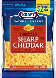 kraft shredded cheese ingredients. Perfect Cheese Kraft Natural Cheese Shredded Inside Ingredients T