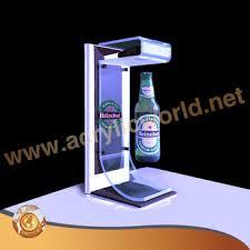 Bar Bottle Display Stand Unique Custom Store Floor Standing Liquor Bottle Display Shelfacrylic Wine