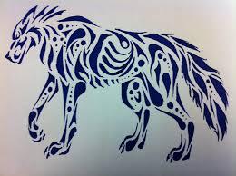 tribal wolf drawings in pencil. Modren Tribal Tribal Wolf Pack Drawing  Photo18 With Wolf Drawings In Pencil C