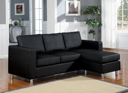 small leather chairs for small spaces. Modern Bonded Leather Sectional Sofa | Small Spaces Configurable Compact Sofas Chairs For