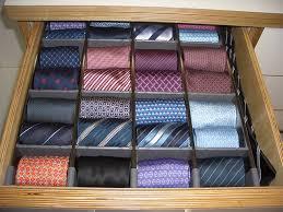Tie Drawer modern-closet
