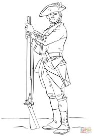 Unusual Soldier Colouring Pages British Revolutionary War Coloring