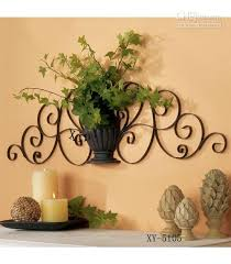 home decor metal wall decor iron plant holder metal walls wall