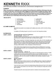 tig welder resume