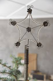 Weihnachtsstern Stern Christbaumspitze Baumspitze ø 19cm