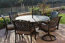 nassau 7pc dining set with 60 inch