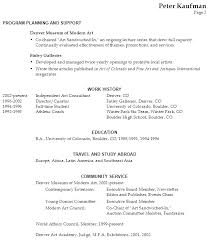 Excellent Art Gallery Resume Sample 16 In Free Online Resume Builder With Art  Gallery Resume Sample