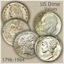 Dime Value Chart Dime Values Discover Your Valuable Dimes