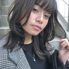 ミディアムロング向け可愛い髪型大人女子のためのオーダーヘア