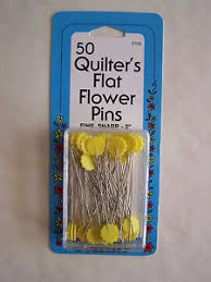 YELLOW Flower Head Pins Quilting Sewing 50 pc NEW | eBay & Image is loading YELLOW-Flower-Head-Pins-Quilting-Sewing-50-pc- Adamdwight.com
