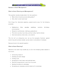 Event Planning Proposal 005 Marketing Plan Event Planning Business Sample The One