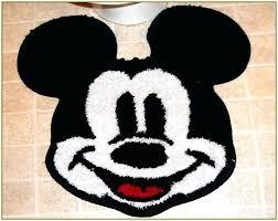 mickey mouse area rugs bath rug throw