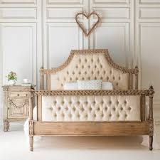 wood and upholstered beds. Amelie Raw Wood Upholstered Bed And Beds O