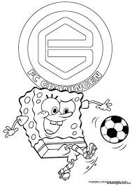 Kleurplaat Feijenoord Logo Mooie Kleurplaat Van Het Logo Van