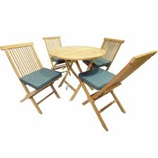 mesh and wood folding garden chair
