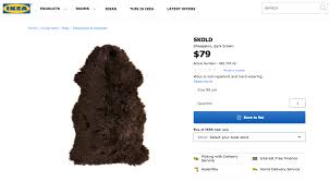 in typical ikea fashion the company decided to release its own instructions so you too can turn your sheepskin rug into a cape