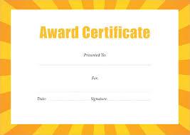 Best Certificate Templates Best Award Certificate Pdf Templates