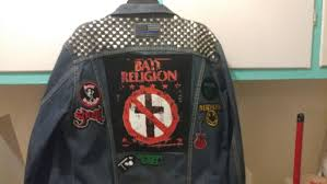 finally got my jacket mostly done at least got all the patches on up next sew the patvhes on and find more patches