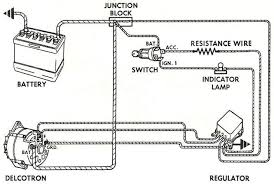 wiring instructions for the early gm delco remy external regulated wiring instructions for the early gm delco remy external regulated alternator