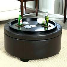 capitol coffee table with storage ottoman ottoman round coffee table underneath with e ottomans upholstered shelf