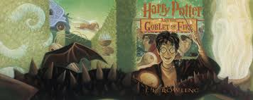 book 4 harry potter and the goblet of fire cover art