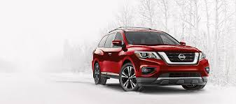 2018 nissan crossover. brilliant crossover nissan pathfinder suv shown in scarlet ember in 2018 nissan crossover