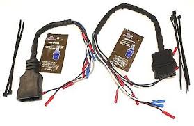 western fisher snow plow 3 port light wiring harness 28986 new western fisher unimount 9 pin truck plow side repair harness 49308 49317