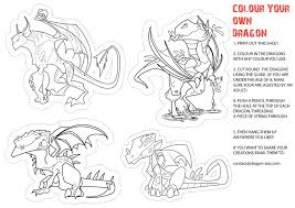 dragon pictures to print and color. Delighful And Color Your Own Dragon Intended Dragon Pictures To Print And 5