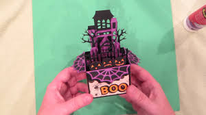 See more ideas about cards, occasion, paper craft projects. Haunted House Halloween Box Card Tutorial File From Svgcuts Youtube