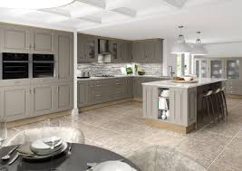 Fitted Kitchens Stone Grey Winchester Starplan NI