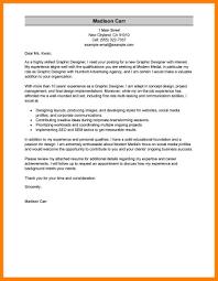 7 Cover Letter Graphic Designer Job Apply Letter