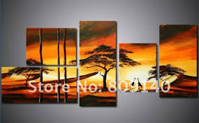 decor paintings hand painted artwork african