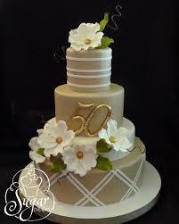 50th Anniversary Cake Cakes 50th Anniversary Cakes Golden