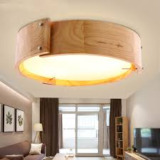 dining room ceiling lights. Nordic Solid Wood LED Ceiling Lights Dia 46cm 36W Japanese Style Living Room Dining Bedroom