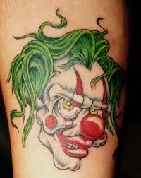 Tetování Klaun Fotogalerie Motivy Tetování