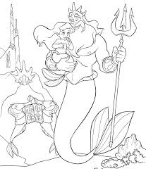 The Little Mermaid Coloring Pages Coloring For Babies Amvame