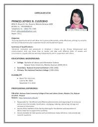 How Do You Make A Resume For A Job How To Make Resume For First Job