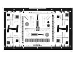 Iso Chart 12233 Iso 12233 Ver Qa 77 Enhanced Digital Camera Resolution Chart