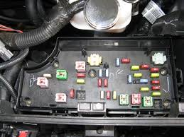 interior fusebox pt cruiser forum and the readout from the owners manual