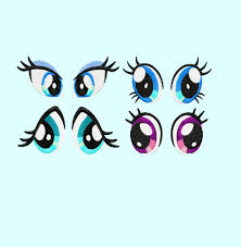 Eyes Embroidery Design 4 Eyes Embroidery Design 3 Sizes Each Great For Pony Plush
